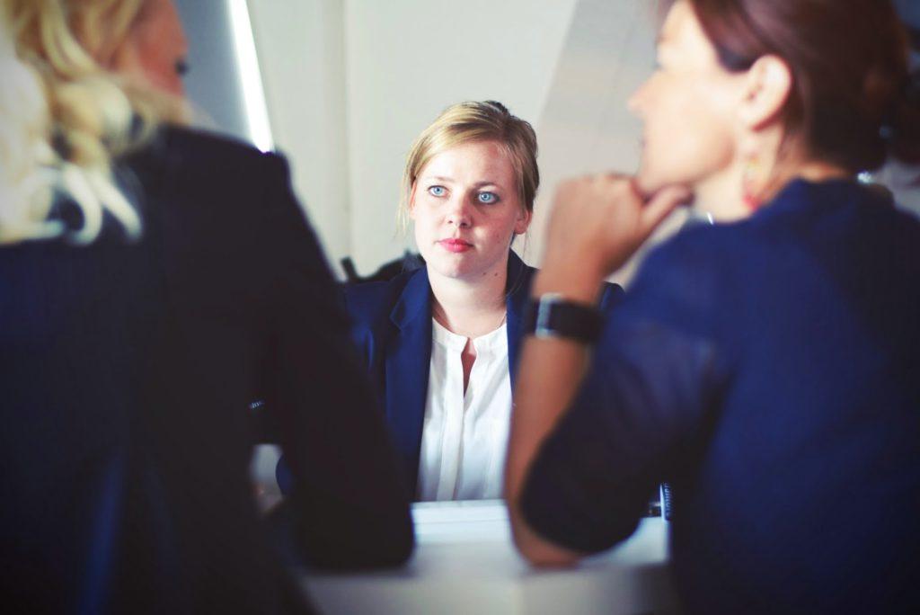 businesswomen businesswoman interview meeting 70292