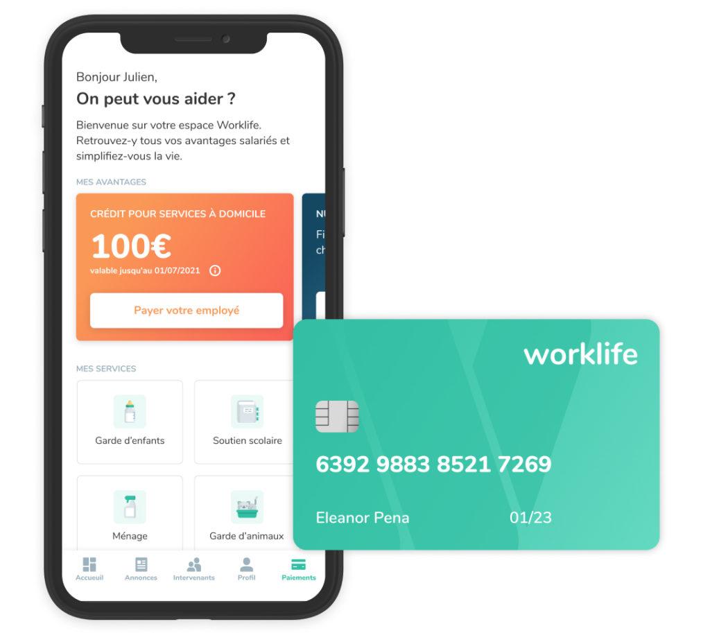 Worklife App Card
