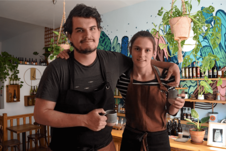 Claire et Michel de Locafé